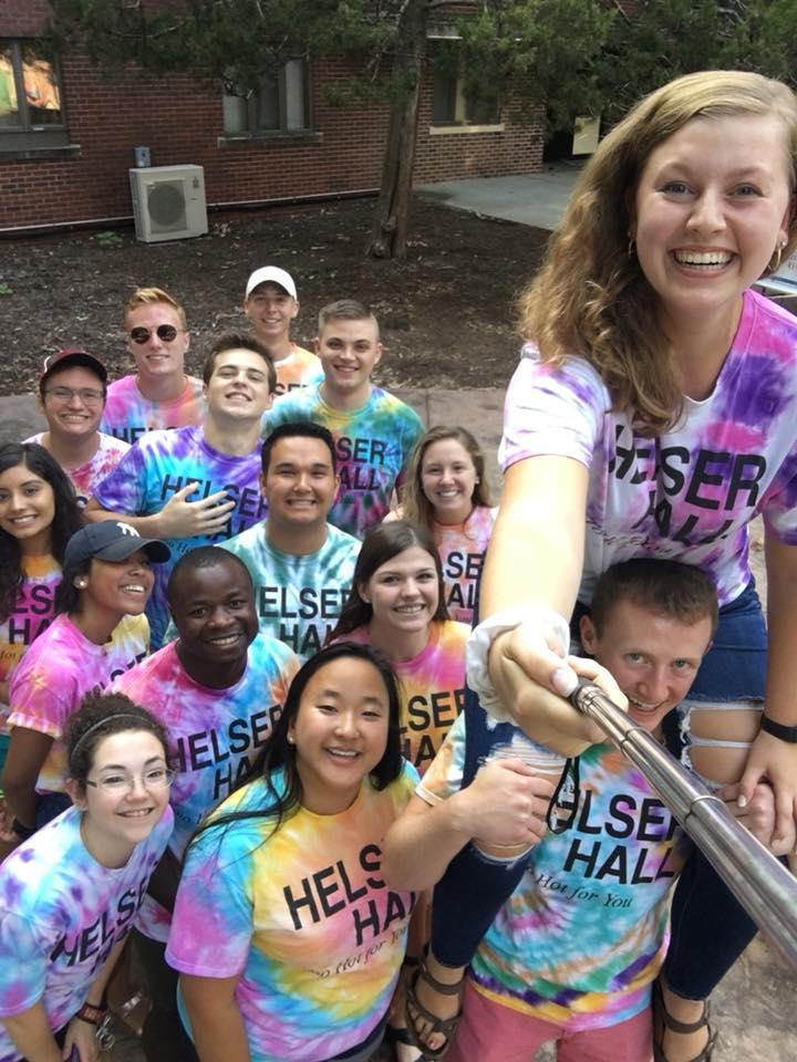 CA Staff in Helser Hall