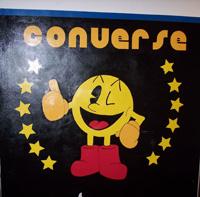 Converse mural